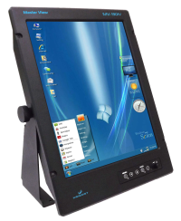 19″ LCD display (vertically oriented)