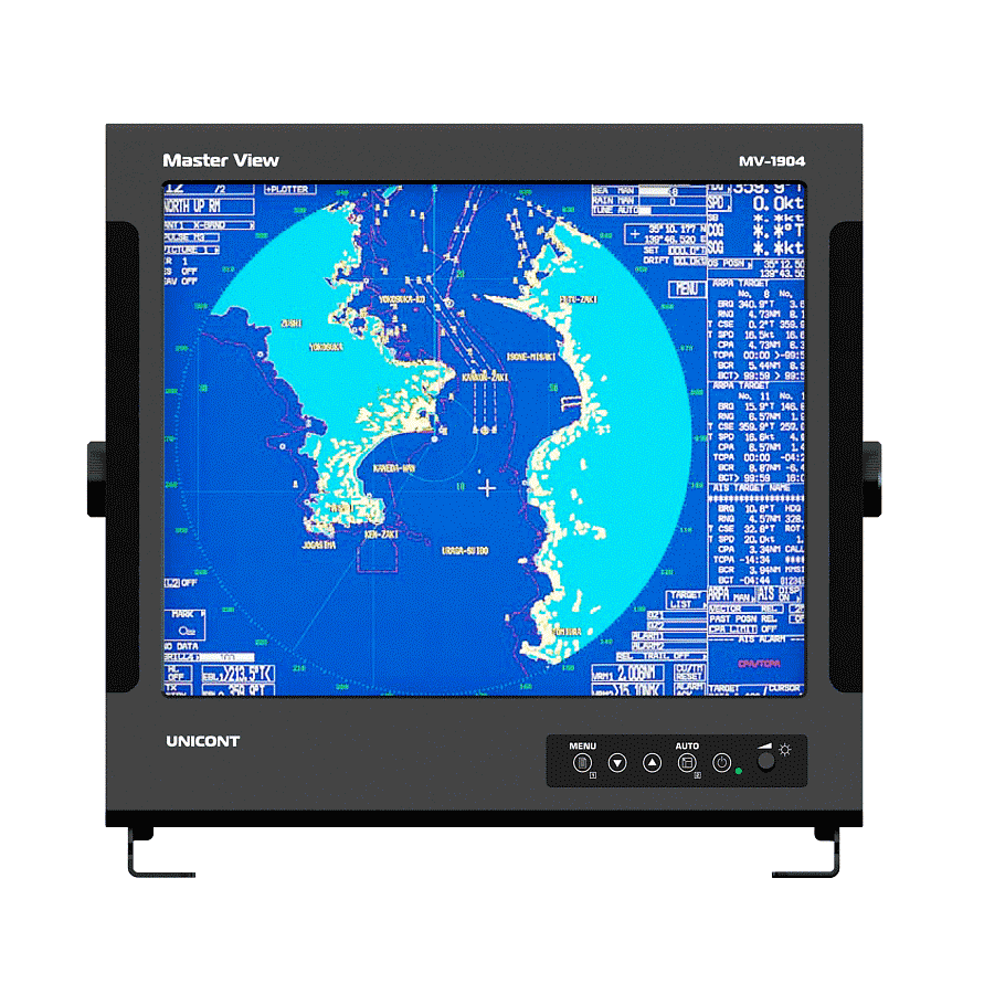 Marine LCD display (LCD, 19″) series 4